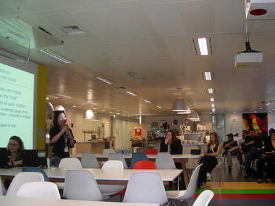 Kantine von Google London