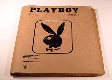 Playboy in Braille