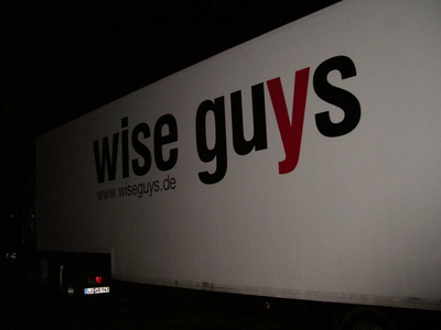 Truck der Wise Guys